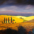 Tuscan Hill Country by William Renzulli