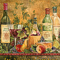 Tuscan In Vino Veritas by Jean Plout