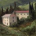 Tuscan Landscape II by Terri  Meyer