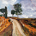 Tuscan Road by Michael Helfen