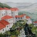 Tuscan Roof  Tops by Dolores Pettit