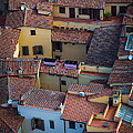 Tuscan Rooftops by Inge Johnsson