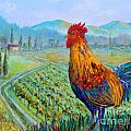 Tuscan Rooster by Lou Ann Bagnall