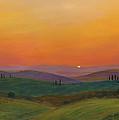 Tuscan Twilight 1 by Cecilia Brendel