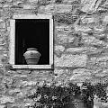 Tuscan Window And Pot by Mike Nellums