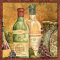 Tuscan Wine-a by Jean Plout