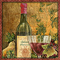 Tuscan Wine-b by Jean Plout