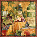 Tuscan Wine-c by Jean Plout