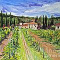 Tuscany Afternoon by Jennifer Beaudet
