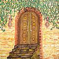 Tuscany Door by Veronica V Jackson