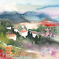 Tuscany Landscape 01 by Miki De Goodaboom