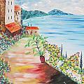 Tuscany Seaside by Larry Marano