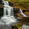 Tuscarora Falls In Fall by Eric Gaston