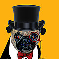 Tux Pug by Dale Moses
