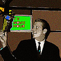 Tv Movie Hour Jake Crellin Kvoa Tv 1962 Sepia Toned Color Drawing Added 2009 by David Lee Guss