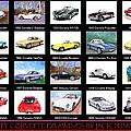Twenty Corvettes by Jack Pumphrey