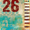 Twenty-six Stripes by Carol Leigh