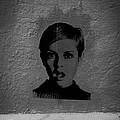 Twiggy Street Art by Louis Maistros