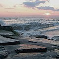 Twilight At Cape May In October by Eric  Schiabor