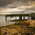 Twilight Cape Porpoise Maine by Bob Orsillo