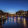 Twilight Docks by CJ Schmit