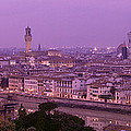 Twilight, Florence, Italy by Panoramic Images