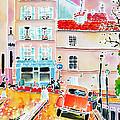 Twilight Montmartre by Hisayo Ohta