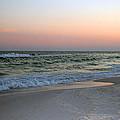 Twilight Ocean Beach by Karen Adams