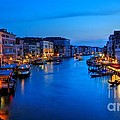 Twilight On The Grand Canal by James Anderson