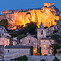 Twilight Over Les Baux by Brian Jannsen