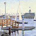 Twilight Sail by Steve Simon