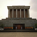 Twilit Ho Chi Minh Mausoleum by Shaun Higson