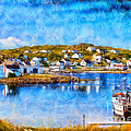Twillingate In Newfoundland by Les Palenik