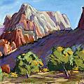 Twin Brothers Vista by Patricia Rose Ford