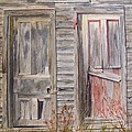 Twin Doors by Jackie Mueller-Jones
