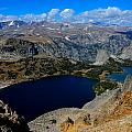 Twin Lakes And The Beartooth Mountains by Tranquil Light  Photography