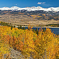 Twin Lakes Colorado Autumn Landscape by James BO  Insogna