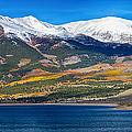 Twin Lakes Colorado Autumn Panorama by James BO  Insogna