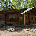 Twin No. 2 Cabin At The Holzwarth Historic Site by Fred Stearns