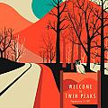 TWIN PEAKS TRAVEL POSTER by Jazzberry Blue