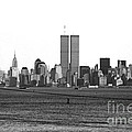 Twin Towers From Staten Island by John Rizzuto
