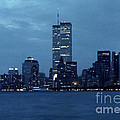 Twin Towers by George DeLisle