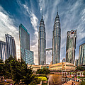 Twin Towers Kl by Adrian Evans
