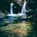 Twin Waterfall by Stelios Kleanthous