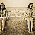 Twins by Leucea Razvan