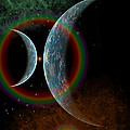 Two Alien Planets In A Distant Part by Mark Stevenson