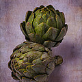 Two Artichokes by Garry Gay