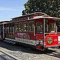 Two Cable Cars San Francisco by Peter Lloyd