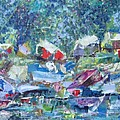 Two Canoes - Sold by Judith Espinoza