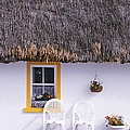 Two Chairs Outside A Cottage, County by Panoramic Images